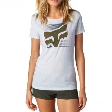 Camiseta FOX CROSSED UP Mujer Gris 2016