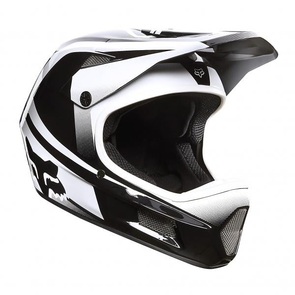 Casque FOX RAMPAGE COMP IMPERIAL Noir/Blanc