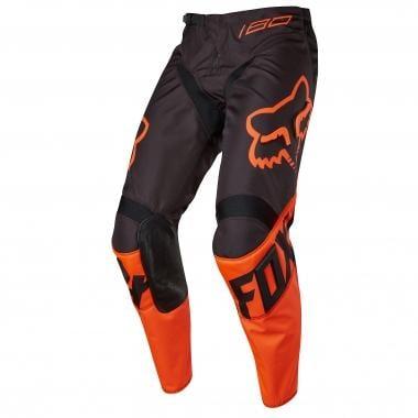 Pantaloni FOX 180 RACE Bambino Nero/Arancione 2017
