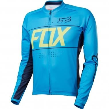 Maillot FOX ASCENT Manches Longues Cyan