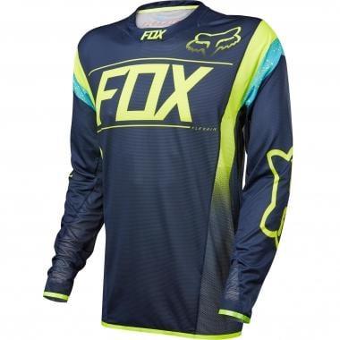 Maillot FOX FLEXAIR DH Manches Longues Kroma/Bleu Marine