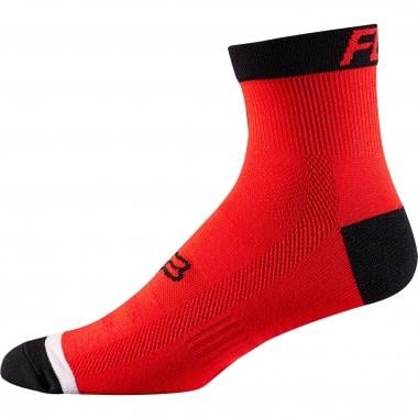 "Chaussettes FOX TRAIL 4"" Rouge"