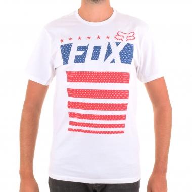 Camiseta FOX RED WHITE AND TRUE Blanco 2016