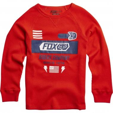 Felpa FOX KANOPOLIS THERMAL Junior Rosso 2016