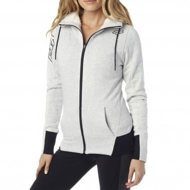 Sweat à Capuche FOX OBJECTIVE SHERPA ZIP Femme Gris 2016