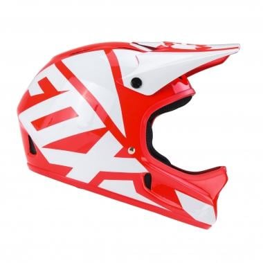 Casque FOX RAMPAGE RACE Rouge/Blanc 2017