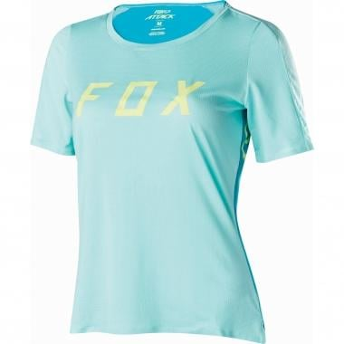 Maillot FOX ATTACK Femme Manches Courtes Turquoise 2017