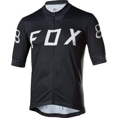 Jersey FOX ASCENT Manga Curta Preto 2017