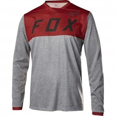 Maillot FOX INDICATOR Manches Longues Rouge 2017