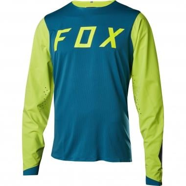 Maillot FOX ATTACK PRO Manches Longues Turquoise 2017