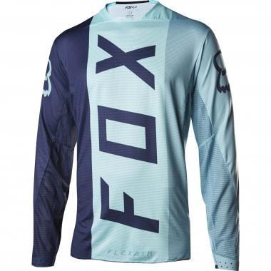Maillot FOX FLEXAIR STRIPE Manches Longues Bleu Clair 2017
