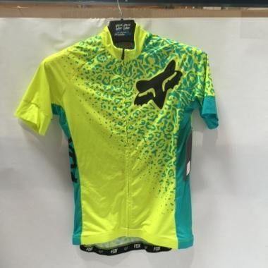 CDA - Maillot FOX SWITCHBACK COMP Femme Manches Courtes Jaune 2016 Taille S