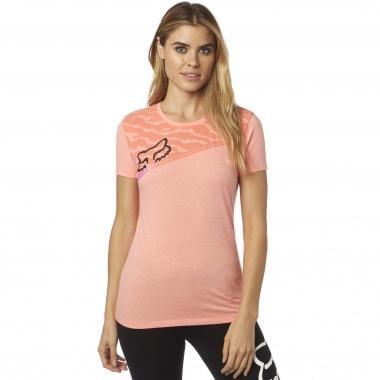 Camiseta FOX ACTIVATED CREW Mujer Naranja 2017