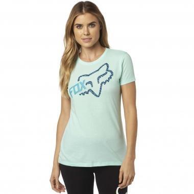 Camiseta FOX REACTED CREW Mujer Verde 2017