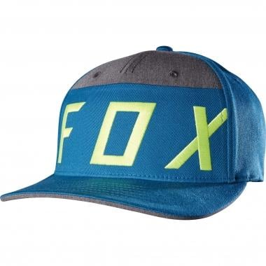 Casquette FOX MOTH SPLICE FLEXFIT Bleu 2017