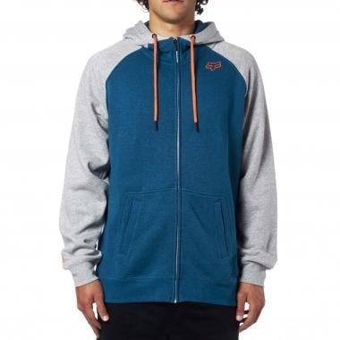 Sweat à Capuche FOX RECOILER ZIP Bleu 2017