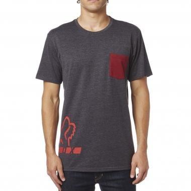 T-Shirt FOX DISPLACED Gris 2017