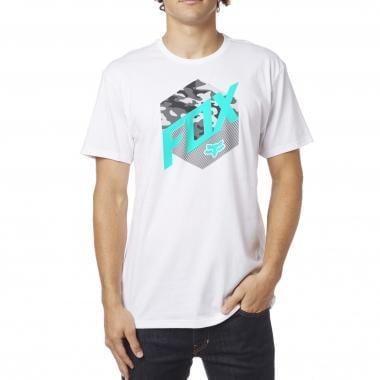 T-Shirt FOX KASTED Blanc 2017