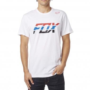 T-Shirt FOX SECA SPLICE Blanc 2017