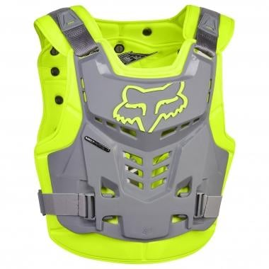 Gilet de Protection FOX PROFRAME LC ROOST DEFLECTOR Jaune/Gris