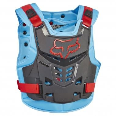 Gilet de Protection FOX PROFRAME LC ROOST DEFLECTOR Bleu/Rouge