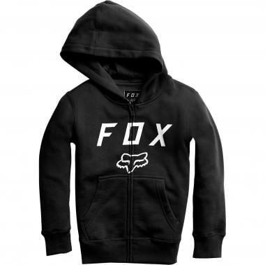 Sudadera con capucha FOX LEGACY MOTH ZIP Junior Negro 2018