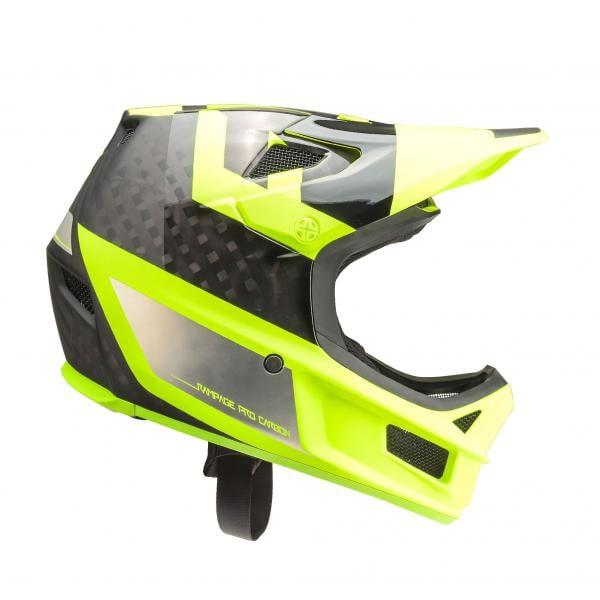 FOX RAMPAGE PRO CARBON PREEST MIPS Helmet Yellow Black 2018 ... 18830bc9b0