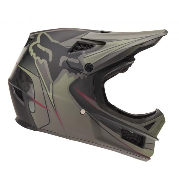 FOX RAMPAGE PRO CARBON KUSTOM MIPS Helmet Green Black 2018 - Probikeshop 481414740f