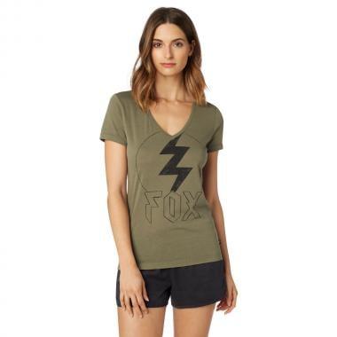 T-Shirt FOX REPENTED Femme Kaki