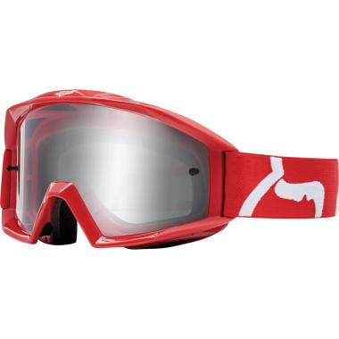 Masque FOX MAIN RACE Enfant Rouge Écran Transparent