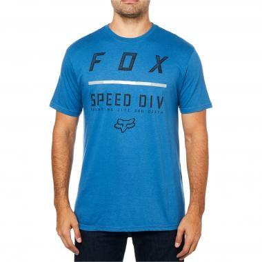 T-Shirt FOX CHECKLIST Blu