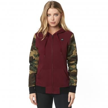 Sweat à Capuche FOX EVERGLADE ZIP Femme Bordeaux 2019