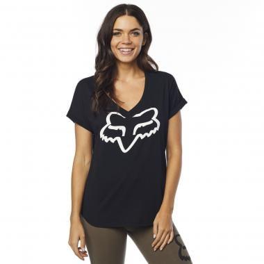 T-Shirt FOX RESPONDED Femme Noir 2019