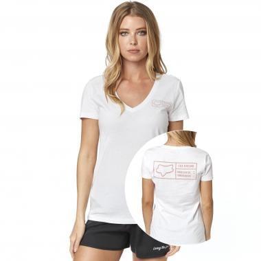 T-Shirt FOX TRACKER Femme Blanc 2019