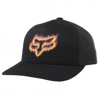 Casquette FOX FLAME HEAD SNAPBACK Junior Noir/Orange 2019