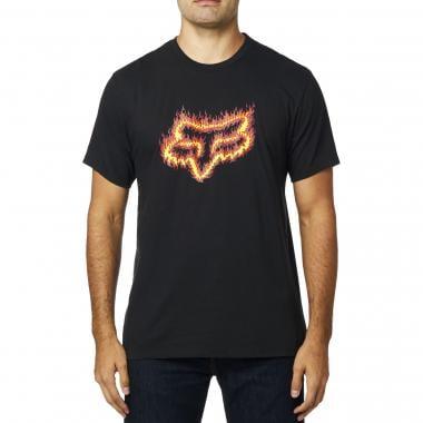 T-Shirt FOX FLAME HEAD Noir 2019