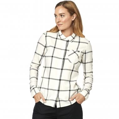 Chemise FOX ROOST FLANNEL Femme Beige 2019