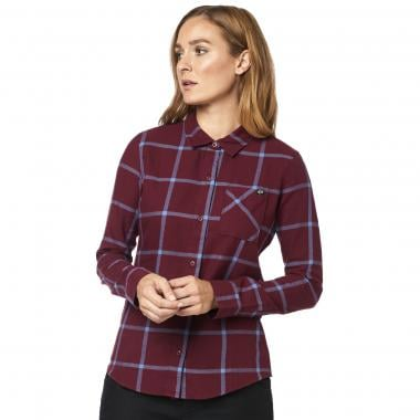 Chemise FOX ROOST FLANNEL Femme Rouge 2019
