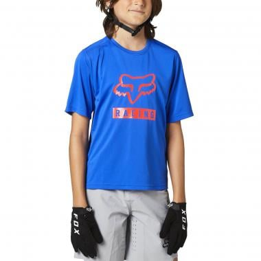 Maillot FOX RANGER Enfant Manches Courtes Bleu 2021