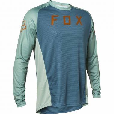 Maillot FOX DEFEND Manches Longues Bleu 2021