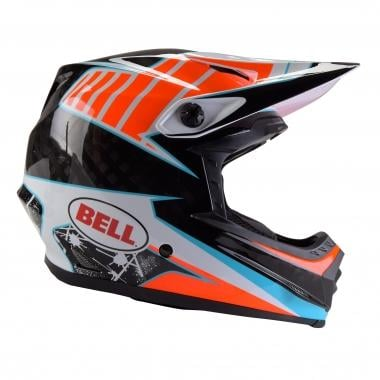 Casque BELL FULL-9 Blanc/Orange/Bleu