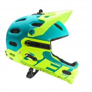 Casco BELL SUPER 3R Verde/Amarillo 2017