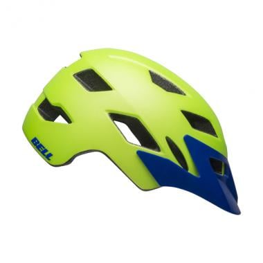 Casque BELL SIDETRACK Y Junior Jaune Fluo/Bleu