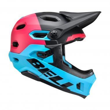 Casco BELL SUPER DH MIPS Azul/Rosa/Negro
