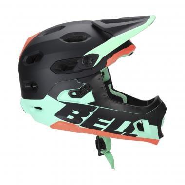 Casque VTT BELL SUPER DH MIPS Noir/Vert/Rouge 2020