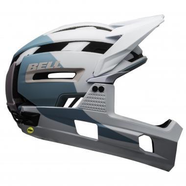 Casque VTT BELL SUPER AIR R MIPS Blanc/Bleu/Violet 2020