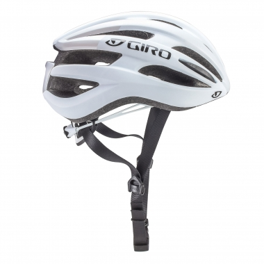 Casque Route GIRO FORAY Blanc Mat/Argent