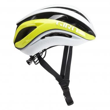 Casque GIRO AETHER MIPS Jaune Fluo/Blanc 2019