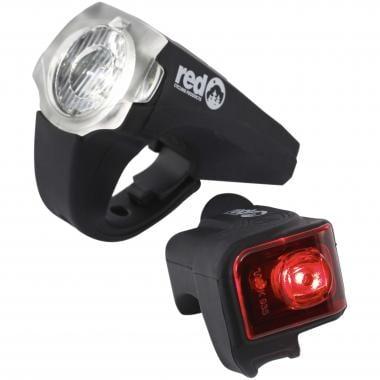 Éclairages Avant et Arrière RED CYCLING PRODUCTS URBAN LED USB 20 LUX