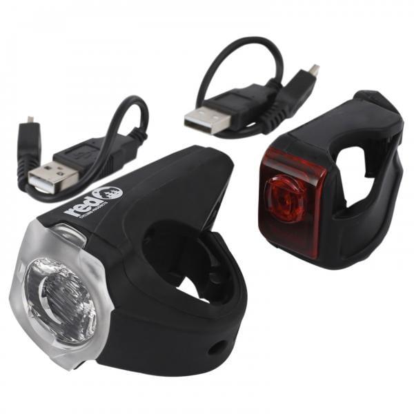 Éclairages Avant Et Arrière RED CYCLING PRODUCTS URBAN LED